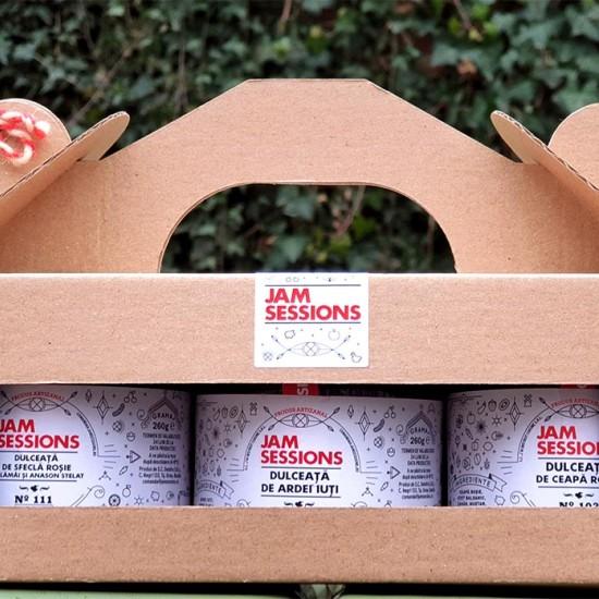 JamSessions Veggies Pack - 3 dulcețuri și cutie cadou