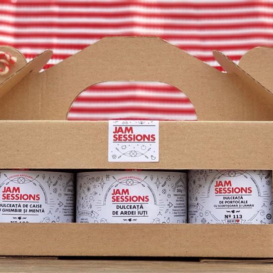 JamSessions Spicy Collection - 3 dulcețuri în cutie cadou